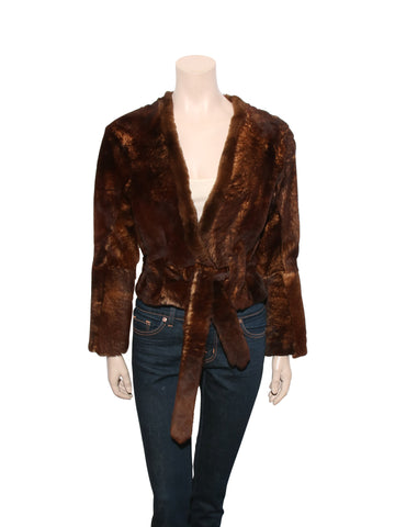 Dries Van Noten Fur Jacket