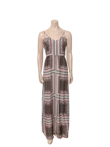 Parker Printed Silk Maxi Dress