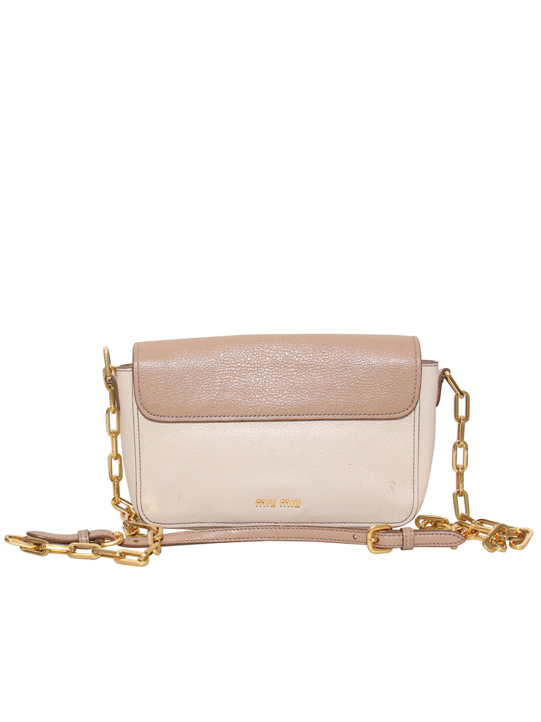 Miu Miu Leather Cross Body Bag