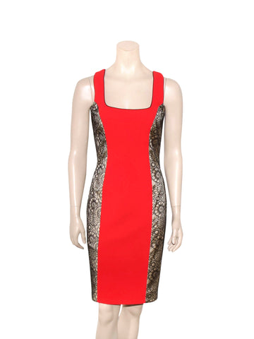 L'Wren Scott Lace Detail Dress