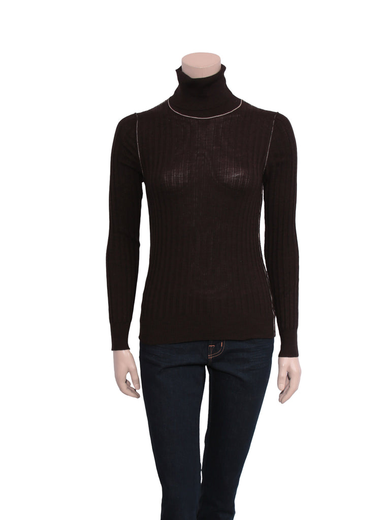 Dolce & Gabbana Ribbed Wool Turtleneck