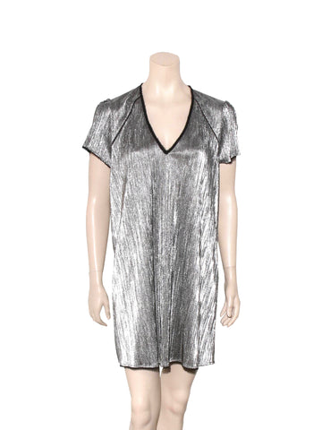 Zadig & Voltaire Metallic Dress