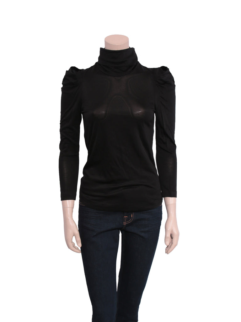 3.1 Phillip Lim Draped Shoulder Turtleneck