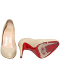 Christian Louboutin Linen Pumps