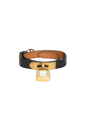 Hermes Kelly Leather Strap Watch