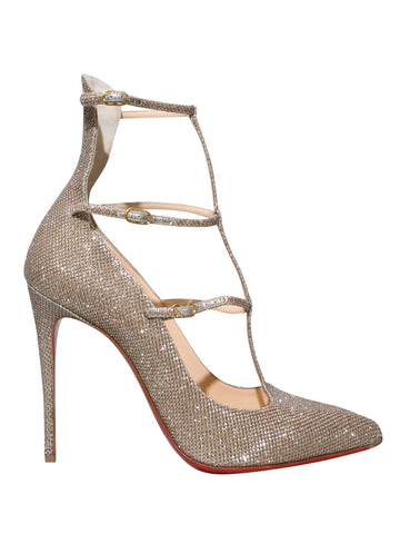 Christian Louboutin Toerless Muse T-Strap Pumps