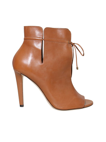 JImmy Choo Leather Memphis 100 Booties