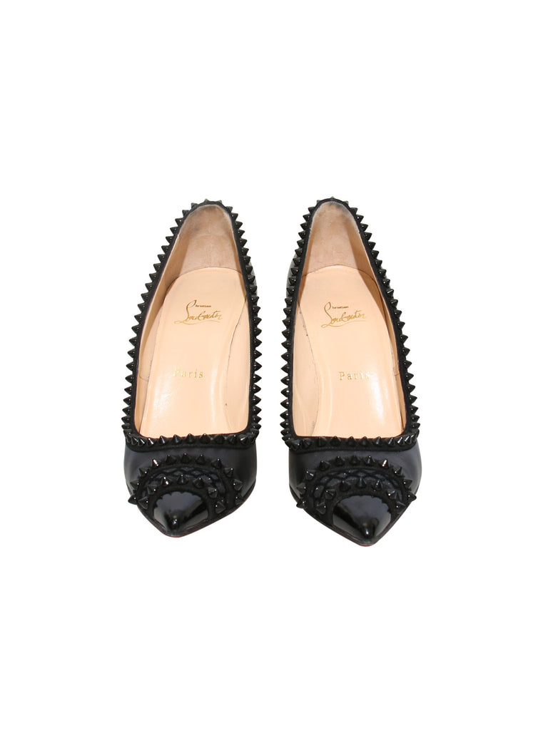 Christian Louboutin Studded Pointed Pumps