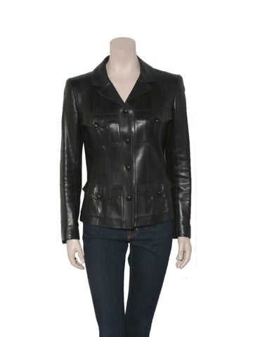 Chanel Vintage Leather Jacket