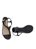 Prada Patent Leather Wedge Sandals