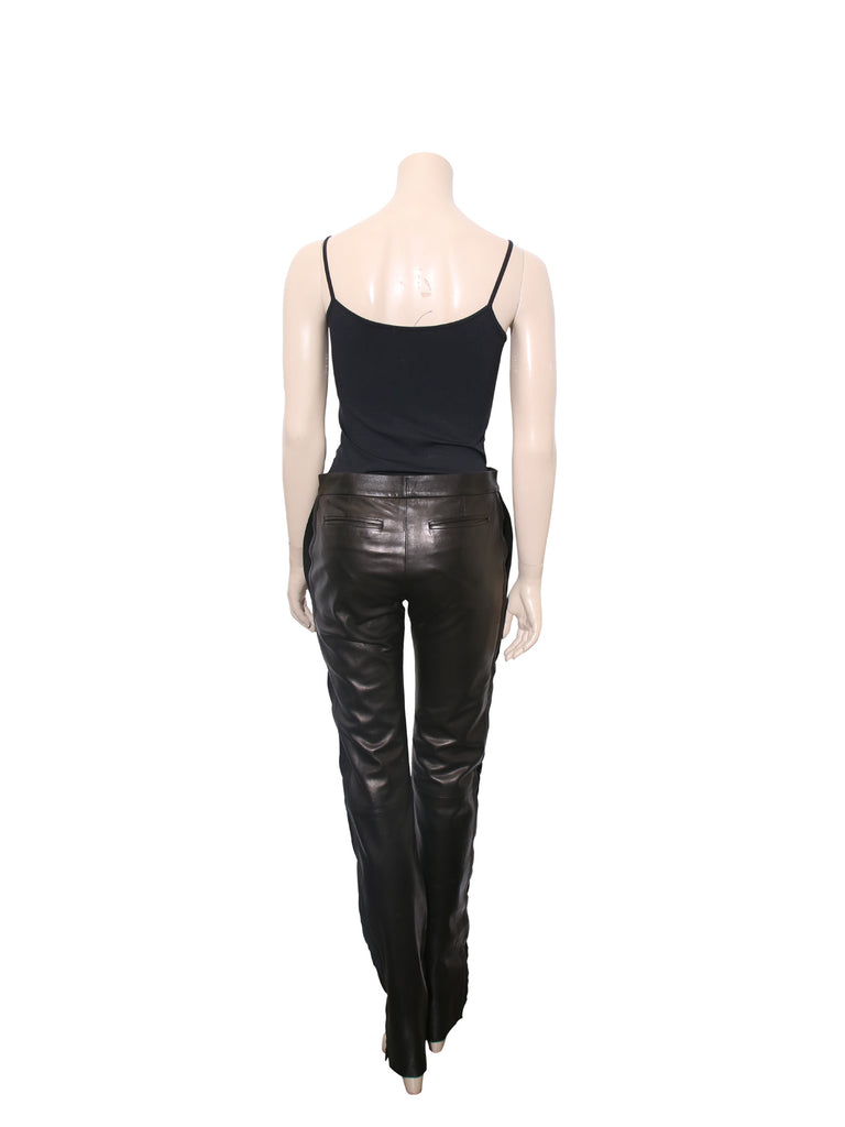 Yves Saint Laurent Leather Pants