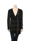 Burberry Silk Metallic Cardigan