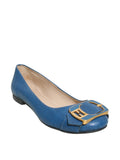 Fendi Leather Ballet Flats