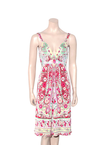 Elie Tahari Floral Silk Dress