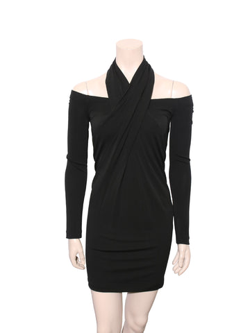 Alexander Wang Off-The-Shoulder Dress