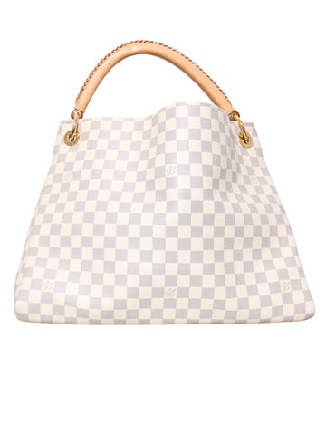 Louis Vuitton Damier Azur Artsy Shoulder Bag