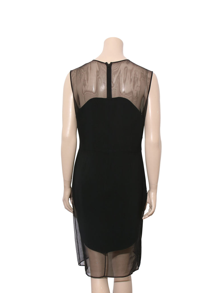 Stella McCartney Sheer Panel Dress