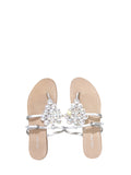 Miu Miu Embellished Flat Sandals