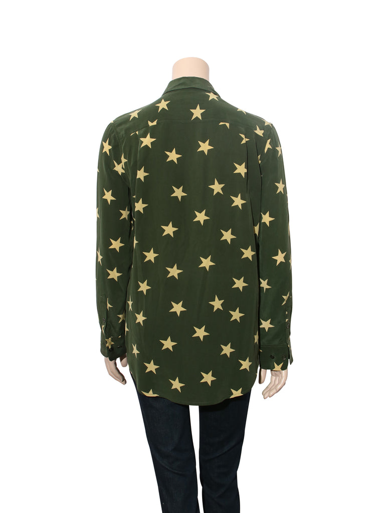Equipment Silk Star Blouse