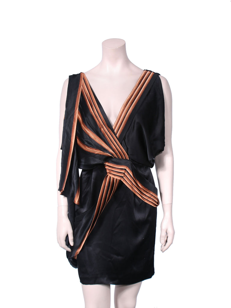 BCBG MaxAzria Runway Draped Dress