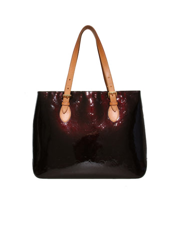 Louis Vuitton Monogram Vernis Brentwood Tote Bag