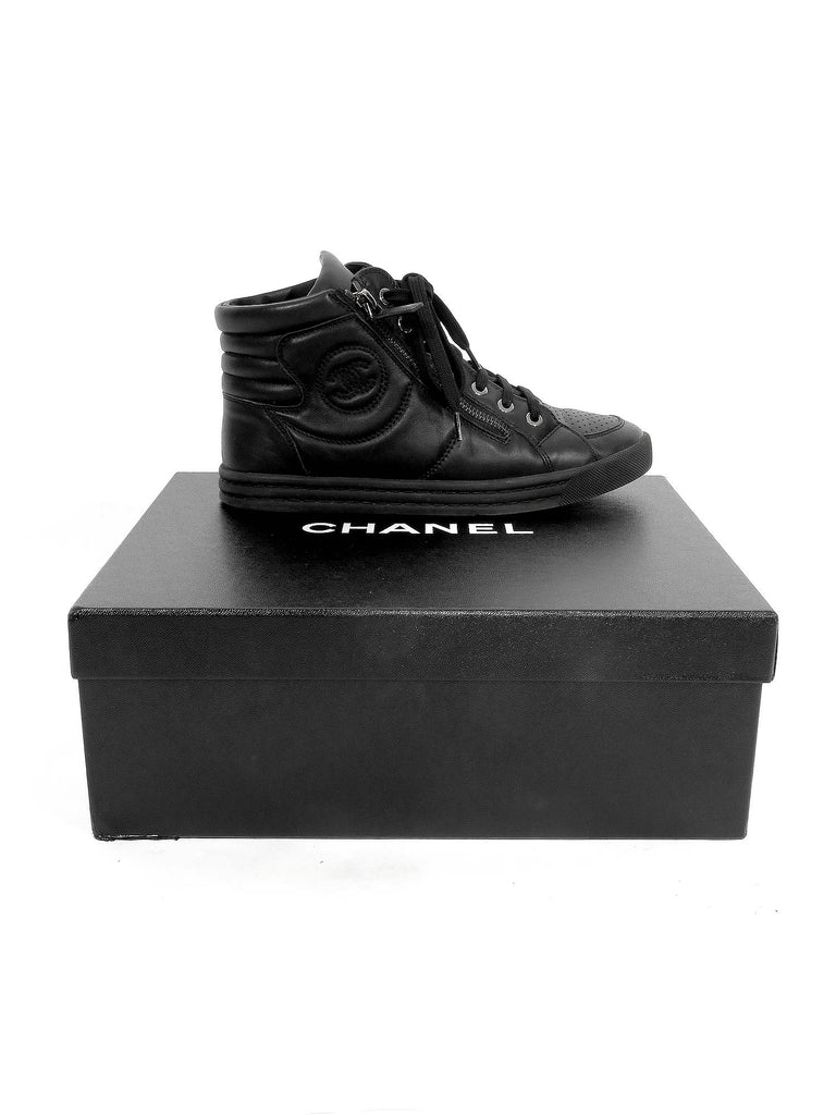 Chanel Leather Sneakers
