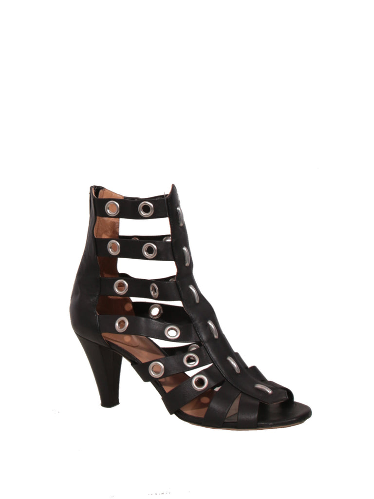 Chloe Leather Grommet Sandals
