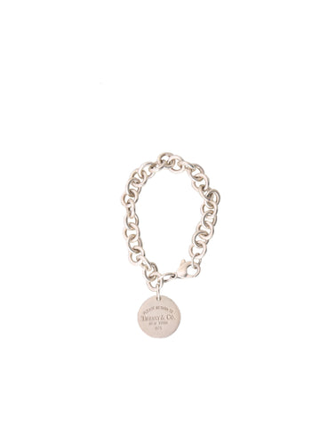 Tiffany & Co. Round Tag Bracelet