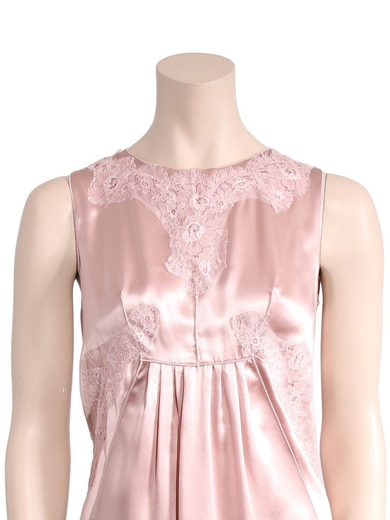 Dolce & Gabbana Silk Lace Top