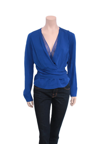 DVF Teagan Silk Blouse