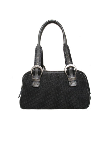 Christian Dior Diorissimo Buckle Shoulder Bag