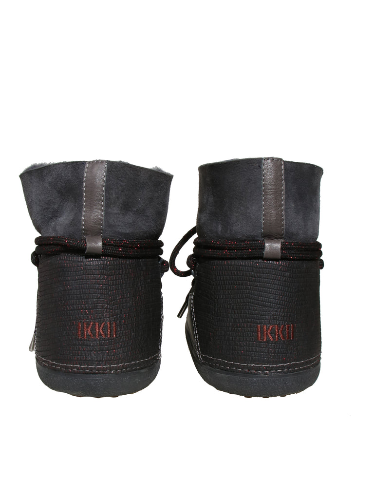 Ikkii Shearling Ankle Winter Boots