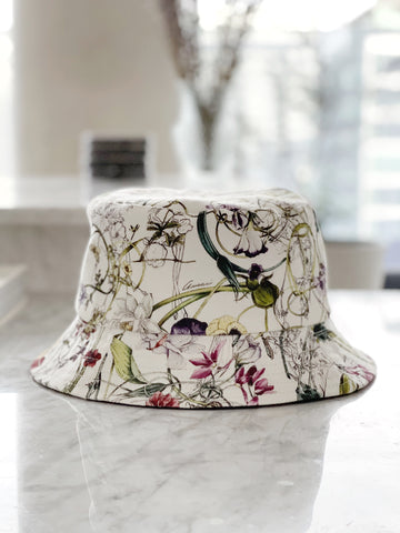 Recycled Gucci Fabric Bucket Hat