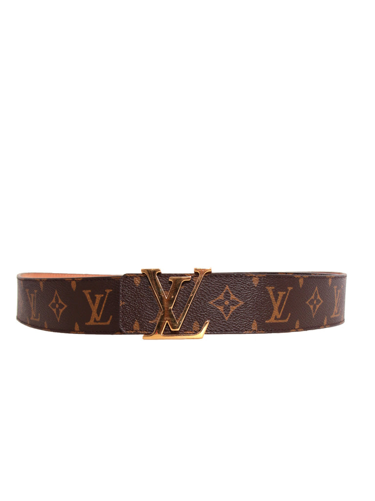 Pre-owned Louis Vuitton LV Initiales 40MM Monogram Canvas Belt ... e920a65f695