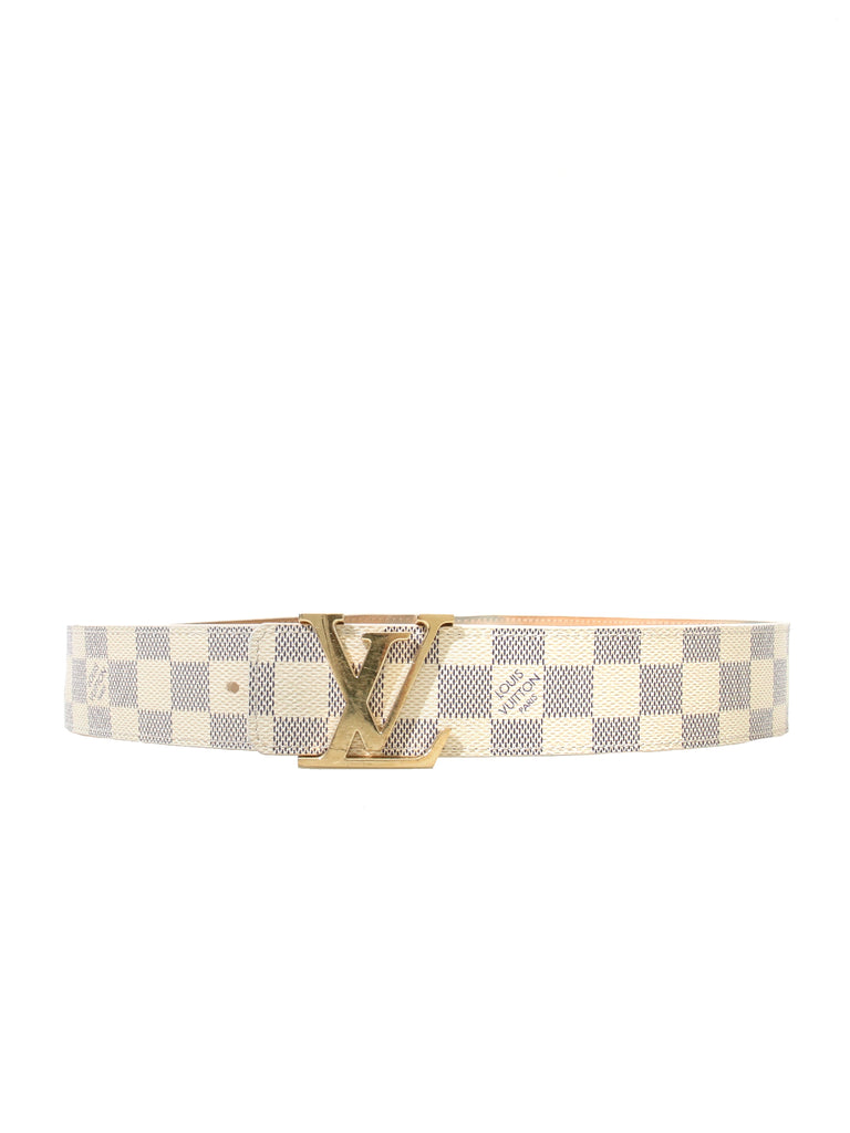 Louis Vuitton LV Initiales Damier Belt