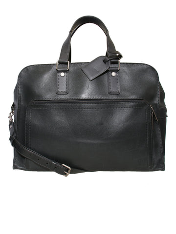 Louis Vuitton Leather Duffle Bag