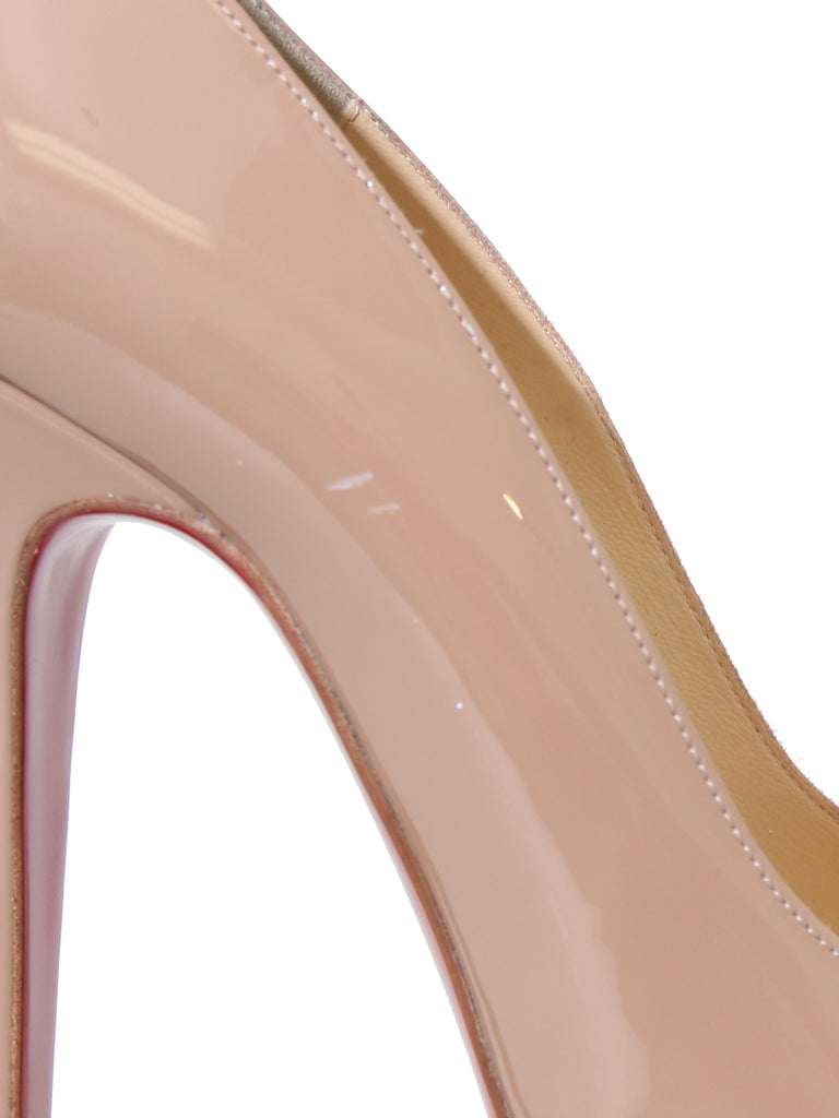 Christian Louboutin Patent Leather Platform Pumps