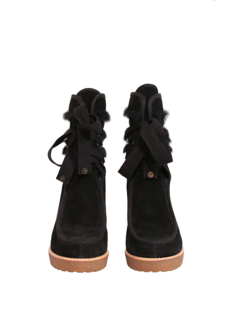Marc Jacobs Suede Booties