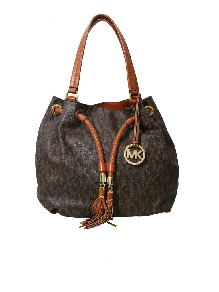 Michael Kors Monogram Tassel Bag