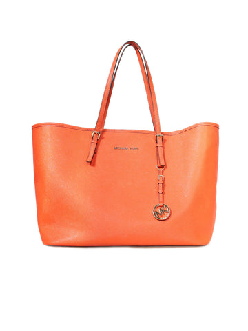 Michael Kors Jet Set Saffiano Leather Tote Bag