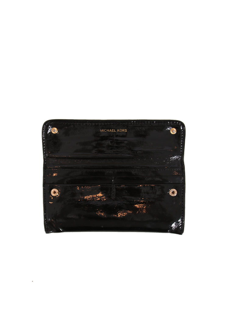 Michael Kors Patent Leather Wallet