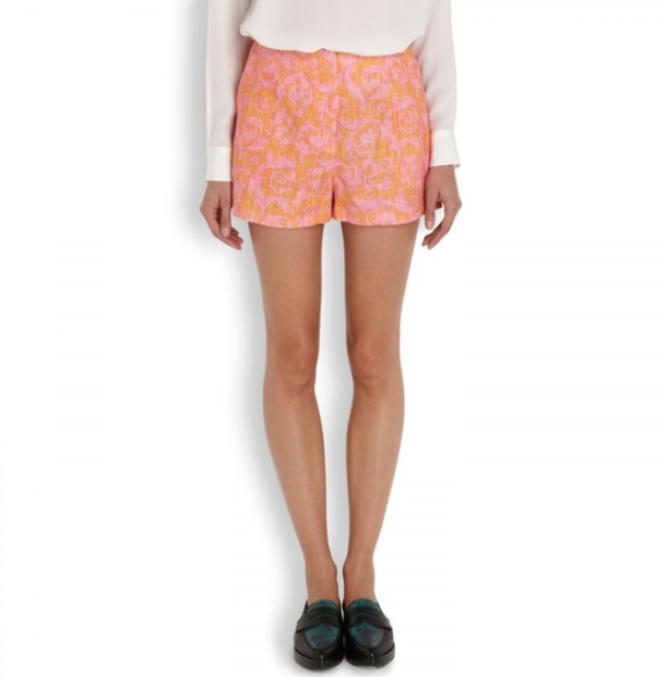 Elizabeth and James Addeline Linen Shorts
