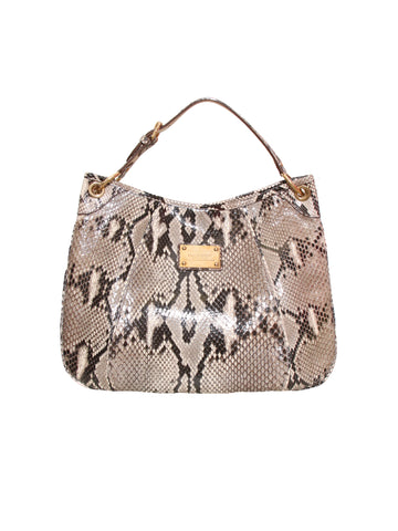 Louis Vuitton Python Galliera Shoulder Bag