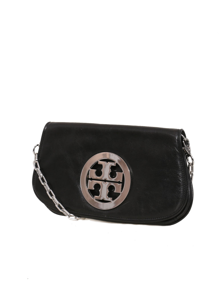 Pre owned tory burch leather reva clutch sabrinas closet tory burch leather reva clutch buycottarizona Images