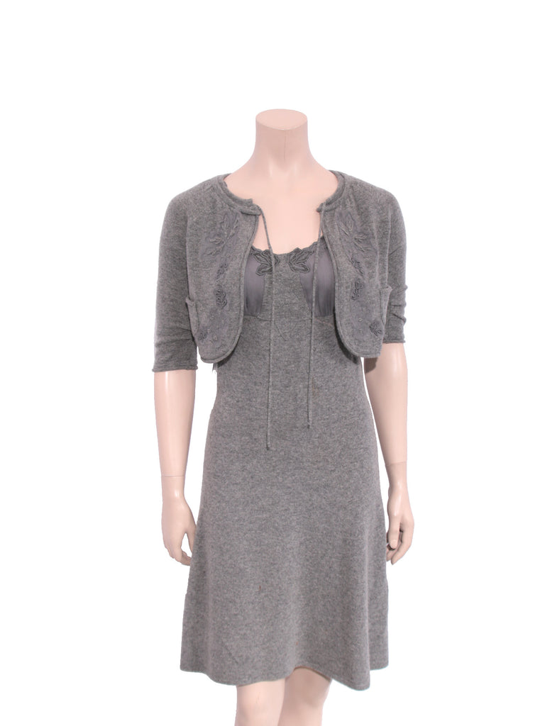 Valentino Wool and Cashmere Dress