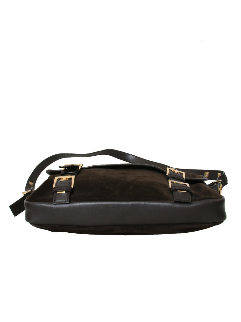 Yves Saint Laurent Suede Shoulder Bag