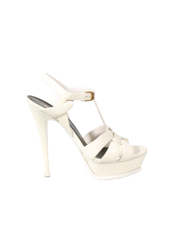 YSL Patent Leather Tribute Sandals