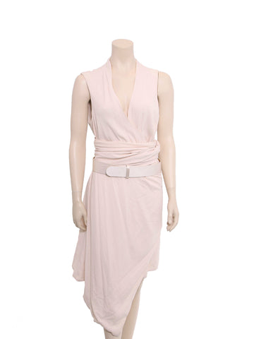 Alexander McQueen Draped Belted Dress