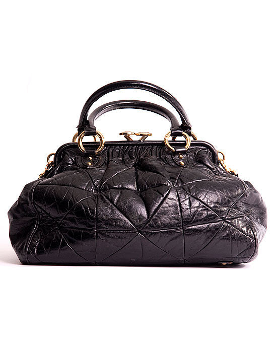 Marc Jacobs Quilted Leather Stam Bag