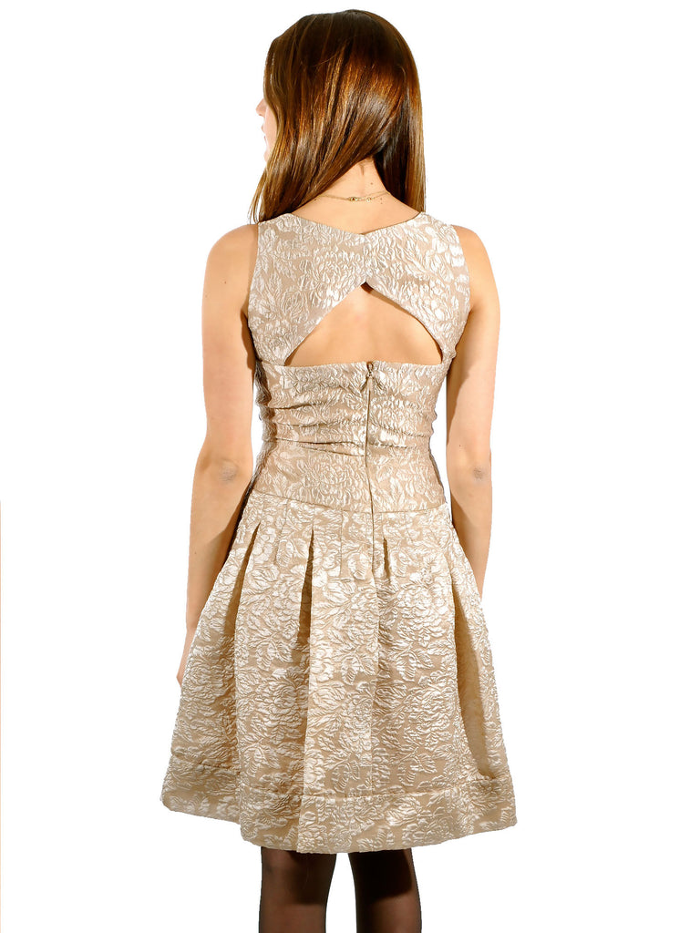 BCBG MaxAzria Delphine Open-Back Dress